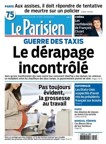 Le Parisien + journal de Paris du mercredi 24 juin 2015
