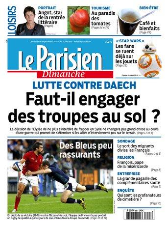 Le Parisien + Guide de votre dimanche du 06 septembre 2015