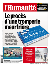 Publication L&#039;Humanit du 21 mai 2013
