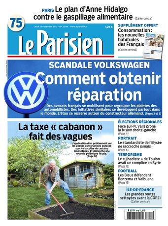 Le Parisien+ Journal de Paris du jeudi 12 novembre 2015