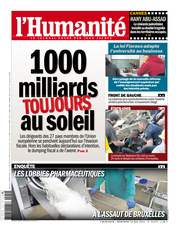 Publication L&#039;Humanit du 22 mai 2013