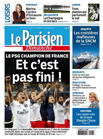 Le Parisien + Guide de votre dimanche du 17 mai 2015 [HQ]