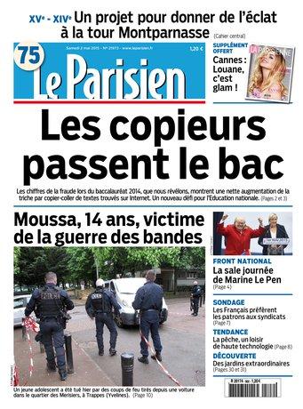 Le Parisien + journal de Paris du samedi 02 mai 2015