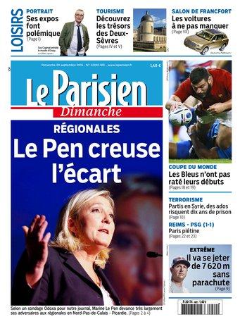 Le Parisien + Guide de votre dimanche du 20 septembre 2015