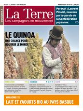 Publication La Terre du 28 mai 2013