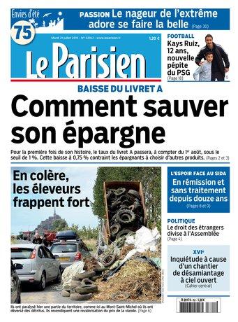 Le Parisien + journal de Paris du mardi 21 juillet 2015