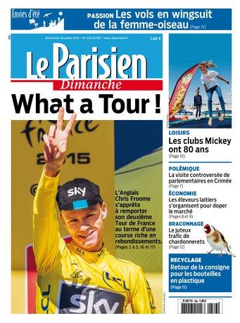 Le Parisien + Envie d' été du dimanche 26 juillet 2015