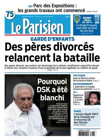 Le Parisien + Journal de Paris du samedi 13 juin 2015