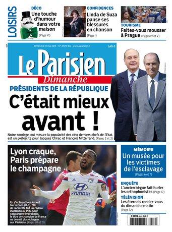 Le Parisien + Guide de votre dimanche du 10 mai 2015