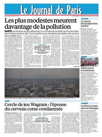 Le Parisien + Journal de Paris & Magazine du vendredi 04 septembre 2015