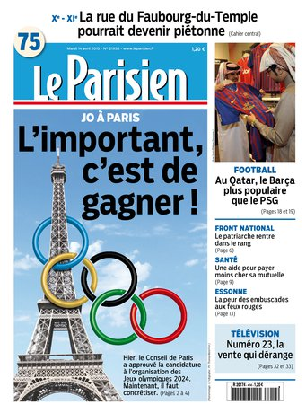 Le Parisien + journal de Paris du mardi 14 avril 2015