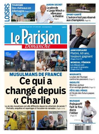 Le Parisien + Guide de votre dimanche du 21 juin 2015