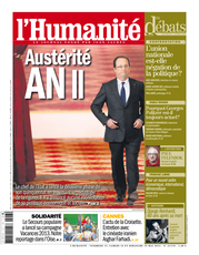 Publication L&#039;Humanit du 17 mai 2013