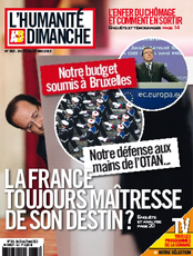Publication L&#039;Humanit Dimanche du 23 mai 2013