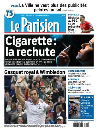 Le Parisien + journal de Paris du jeudi 09 juillet 2015