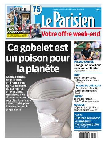Le Parisien + journal de Paris & Magazine du vendredi 05 juin 2015