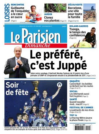 Le Parisien + Guide de votre dimanche du 24 mai 2015