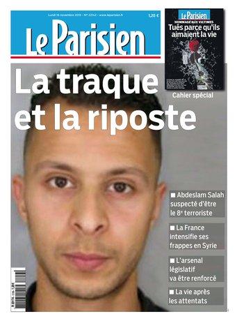 Le Parisien+ Journal de Paris du lundi 16 novembre 2015
