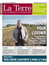 Publication La Terre du 30 avril 2013