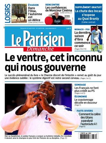 Le Parisien + Guide de votre dimanche du 30 aout 2015