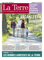 Publication La Terre du 14 mai 2013