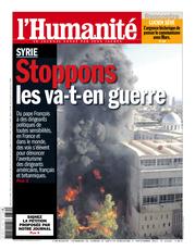 Non à une intervention militaire de la France en Syrie dans POLITIQUE catalog-cover-icon