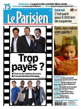 Le Parisien + cahier Paris du samedi 05 janvier 2013