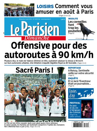 Le Parisien du dimanche 02 aout + Envies dété
