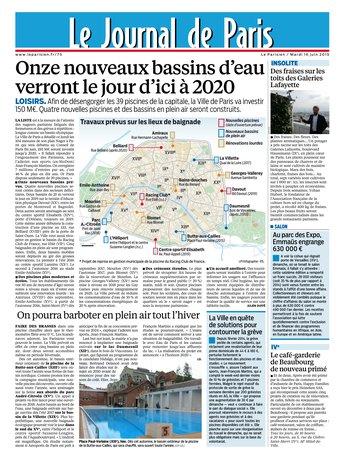 Le Parisien + journal de Paris du mardi 16 juin 2015