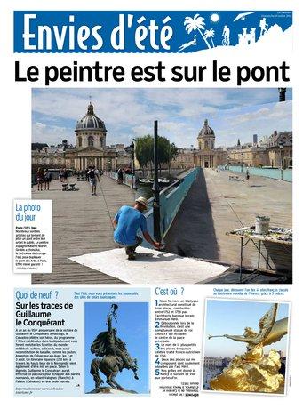Le Parisien dimanche + Envie d'été du 19 juillet 2015